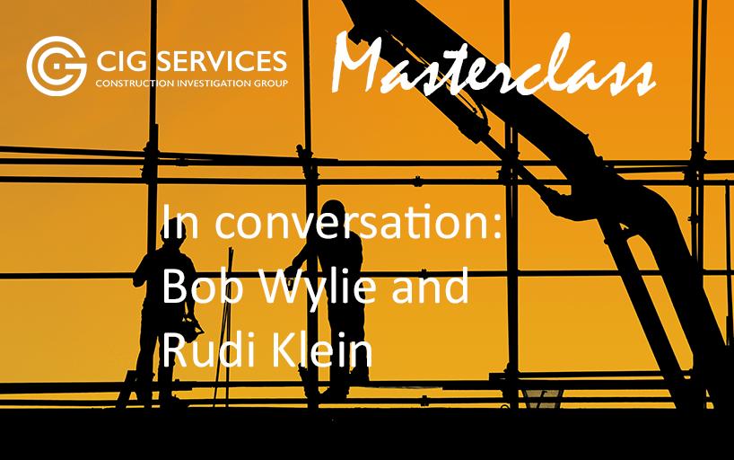 Masterclass – In Conversation: Bob Wylie and Rudi Klein (17 March 2021)