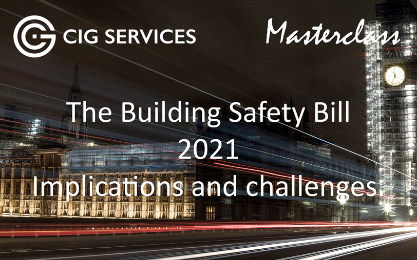 The Building Safety Bill 2021 – Challenges and Implications (20 October 2021)